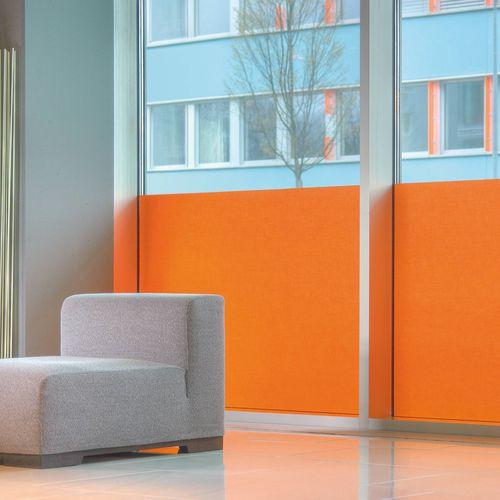 tissu pour protection solaire / uni / en polyester / en Trevira CS®