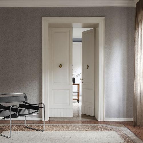 revêtement mural en tissu / résidentiel / texturé / aspect métal