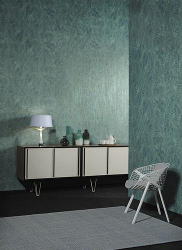 Papiers peints contemporains / en fibre végétale / géométriques / aspect métal ELIXIR Omexco
