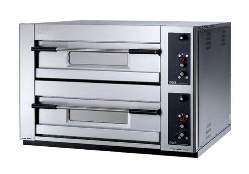 Four professionnel / électrique / à pizza / 2 chambres MB 12.35 LE OEM - Pizza System