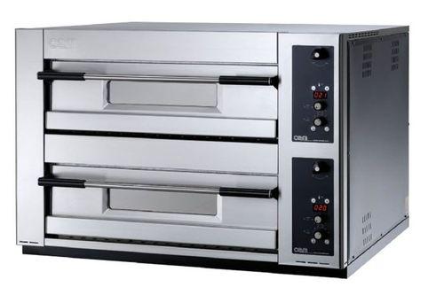 Four professionnel / électrique / à pizza / 2 chambres MB 8.35 E OEM - Pizza System