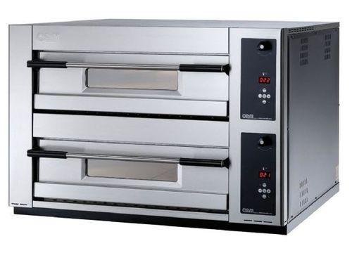 Four professionnel / électrique / à pizza / 2 chambres MB 12.35 LD OEM - Pizza System