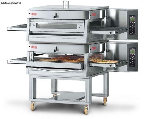 Four à gaz / professionnel / à pizza / double HV/75-G/2 OEM - Pizza System