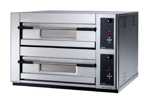 Four électrique / professionnel / à pizza / 2 chambres MB 12.35 SD OEM - Pizza System