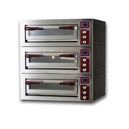 Four électrique / professionnel / à pizza / 3 chambres PULSAR 435-3 OEM - Pizza System