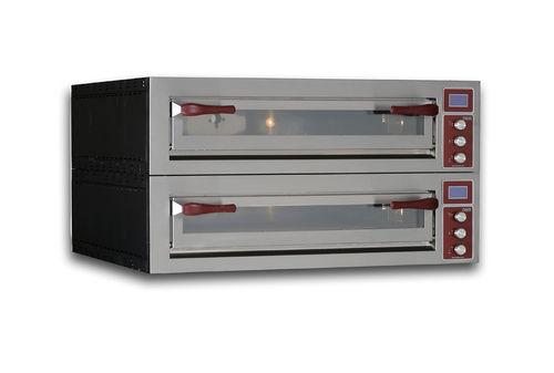 Four électrique / professionnel / à pizza / 2 chambres PULSAR 635L-2 OEM - Pizza System