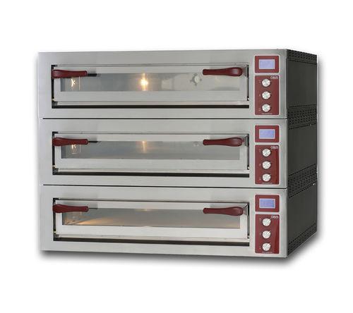Four électrique / professionnel / à pizza / 3 chambres PULSAR 635L-3 OEM - Pizza System