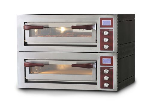 Four électrique / professionnel / à pizza / 2 chambres PULSAR 635S-2 OEM - Pizza System