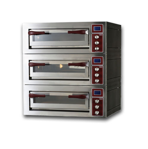 Four professionnel / électrique / à pizza / 3 chambres PULSAR 635S-3 OEM - Pizza System