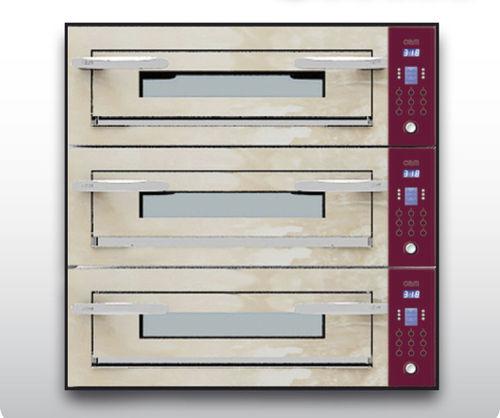 Four électrique / professionnel / mixte / 3 chambres OPTYMO CONCEPT: 635S/3 ONYX OEM - Pizza System