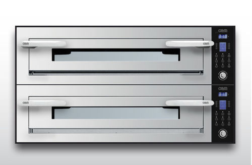 Four électrique / professionnel / à pizza / 2 chambres OPTYMO CONCEPT: 935/2 INOX OEM - Pizza System
