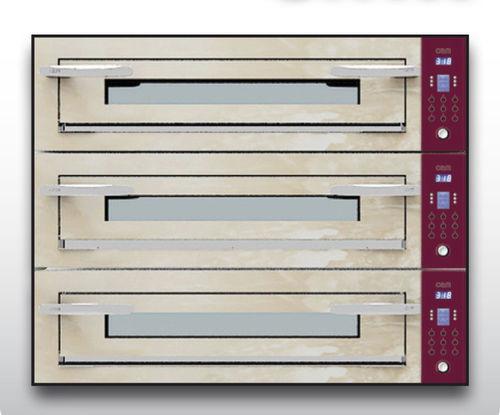 Four électrique / professionnel / à pizza / 3 chambres OPTYMO CONCEPT: 935/3 ONYX OEM - Pizza System