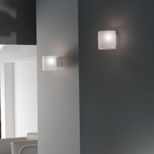 applique murale design original / en verre / en verre soufflé / à LED