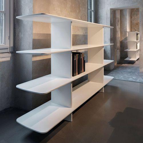 Étagère contemporaine / en chêne / en MDF / en plaqué bois SHIFT by Norman Foster TECNO