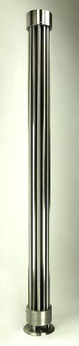 radiateur à eau chaude / en inox / contemporain / à poser