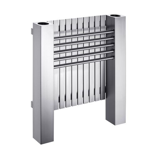 radiateur à eau chaude / en inox / contemporain / de salle de bain