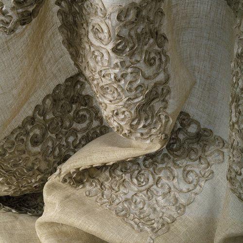 Tissu d'ameublement / baroque / en lin / transparent BAMBALA  NYA NORDISKA TEXTILES