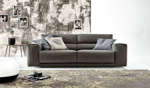 Canapé d'angle / modulable / contemporain / en cuir BOOMAN  by Spessotto & Agnoletto Ditre Italia
