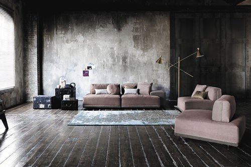 Canapé modulable / contemporain / en cuir / en simili cuir SANDERS by Spessotto & Agnoletto Ditre Italia