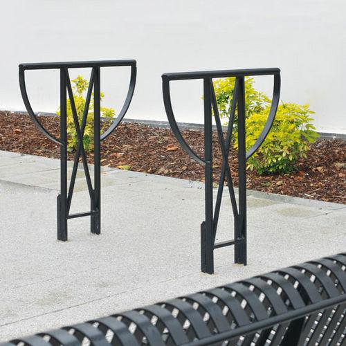 Range-vélo en acier / pour espace public TOULOUSE AREA