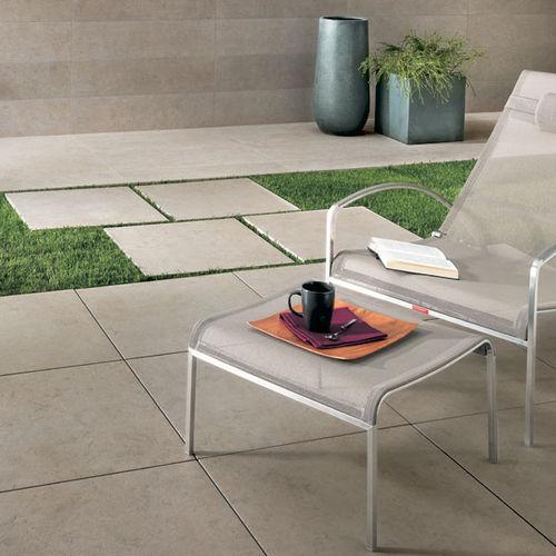 carrelage d'extérieur / de sol / en grès cérame / 60x60 cm
