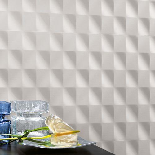 carrelage 3D / d'intérieur / mural / en céramique