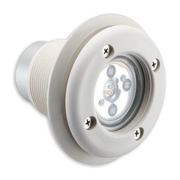 luminaire encastrable au sol / LED RGBW / rond / pour piscine