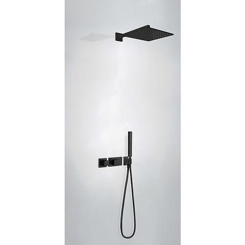 set de douche mural / contemporain / pluie / thermostatique
