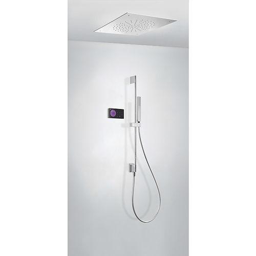 set de douche encastrable au plafond / mural / contemporain / avec douche à main