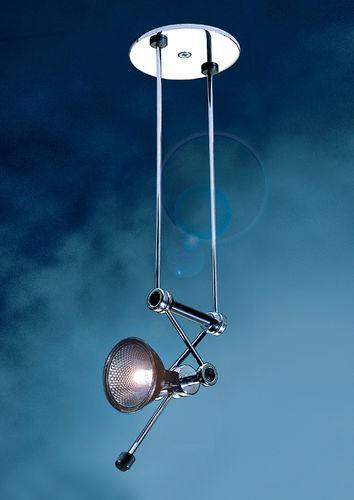 spot de plafond / halogène / rond / en laiton