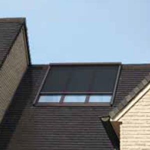 store pour fentre de toit enrouleur en tissu dextrieur