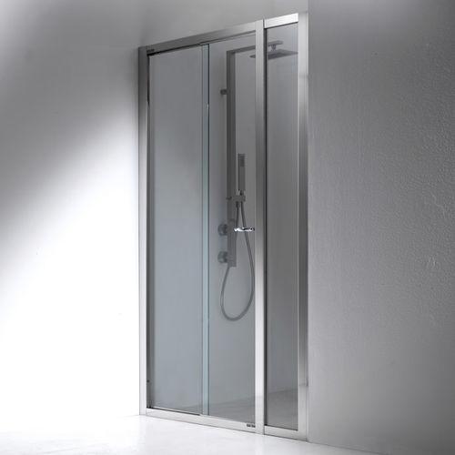 paroi de douche pliante / en niche / en verre