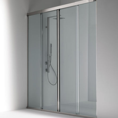 paroi de douche coulissante / en niche / en verre