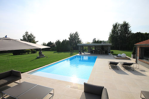 Piscine Enterre  En Bton  DExtrieur  Pool House  Piscines