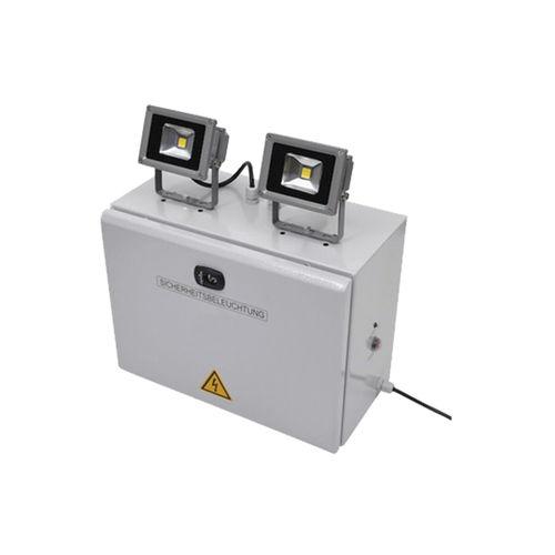 Éclairage de secours en saillie / autre formes / à halogène / en métal AP LUMATEC FRANCE / LUMATEC SUISSE