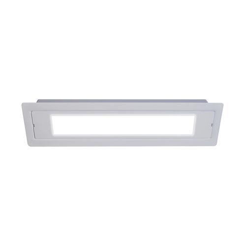 Éclairage de secours encastré / rectangulaire / à LED / en métal AA LUMATEC FRANCE / LUMATEC SUISSE