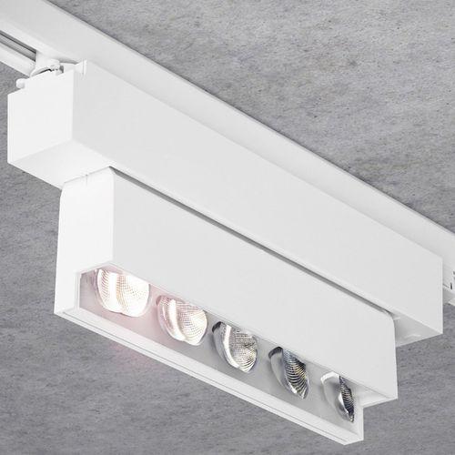 éclairage sur rail à LED / linéaire / en métal / professionnel