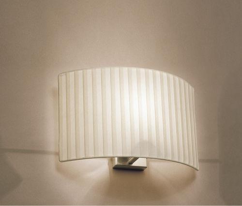 applique murale contemporaine / en tissu / à LED / fluocompacte