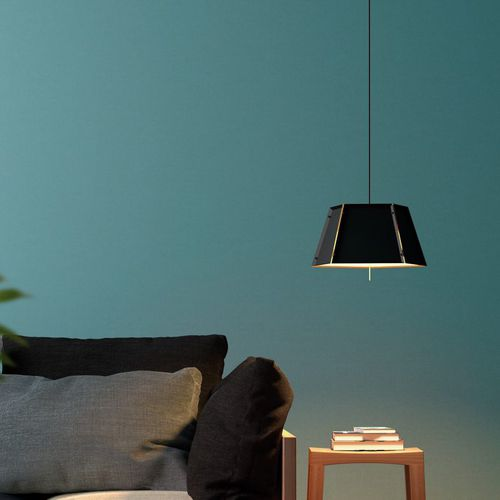 lampe suspension / contemporaine / en aluminium / en laiton