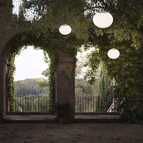 lampe suspension / contemporaine / en verre / à LED