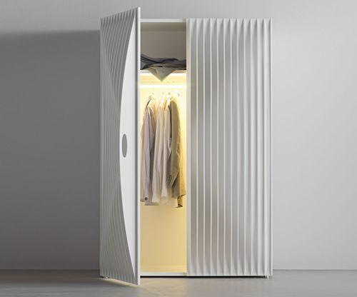 armoire design original / en MDF / à porte battante / par Karim Rashid
