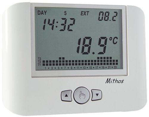 Thermostat programmable / numérique / mural / pour chauffage MITHOS BIANCO VE328100 VEMER