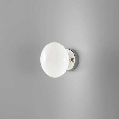 applique murale contemporaine / en métal / en verre / à LED