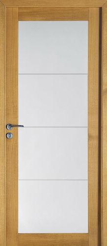 Porte d'interieur / battante / coulissante / en chêne DESIGN : BORA ROZIERE