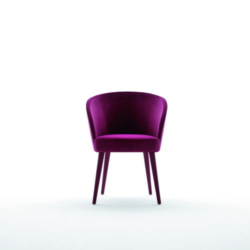 fauteuil contemporain / en tissu / tapissé / professionnel