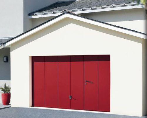 porte de garage sectionnelle / basculante / enroulable / battante