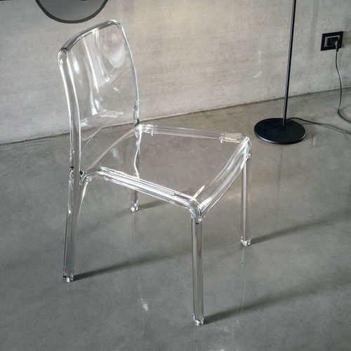 Chaise contemporaine / en polycarbonate FUTURA Target Point New