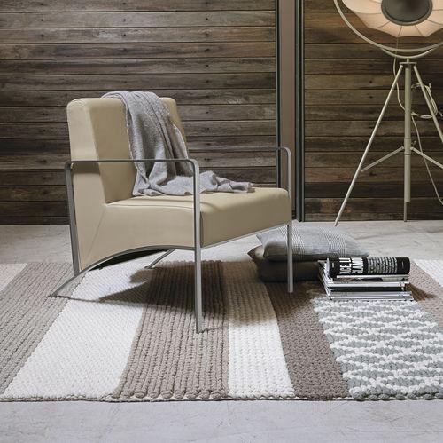 fauteuil contemporain / en acier