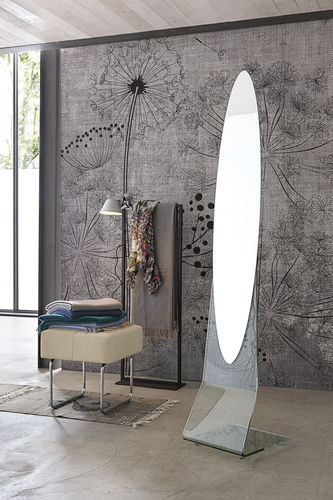 Miroir psyché / contemporain / ovale NARCISO Target Point New
