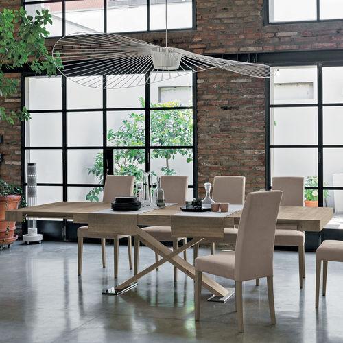 Table à manger design scandinave / en stratifié / rectangulaire / à rallonge ASTERION Target Point New